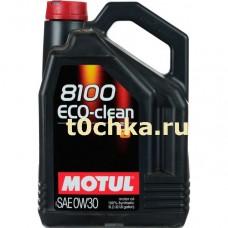 Motul 8100 Eco-clean 0W-30, 5 л