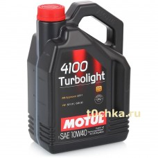Motul 4100 Turbolight 10W-40, 4 л