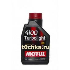 Motul 4100 Turbolight 10W-40, 1 л