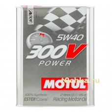 Motul 300V Power 5W-40, 2 л