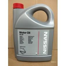 Nissan Motor Oil SAE 5W-30, 5 л