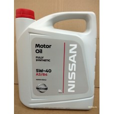 Nissan Motor Oil 5W-40, 5 л