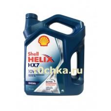 SHELL Helix HX7 Diesel 10W-40 4 л