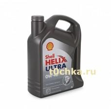 SHELL Helix Ultra 0W-40, 4 л