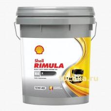 SHELL Rimula R4 X 15w-40, 20 л