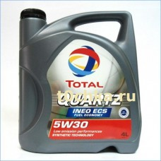 TOTAL Quartz INEO ECS 5W30, 5 л