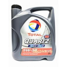 TOTAL Quartz INEO MC3 5W30,  5 л