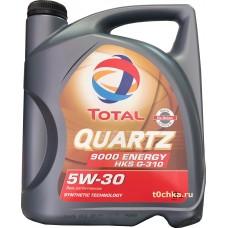 TOTAL Quartz 9000 Energy HKS G-310 5W30, 5 л