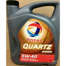 TOTAL Quartz 9000 5W-40, 4 л